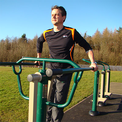 Adult Outdoor Gym