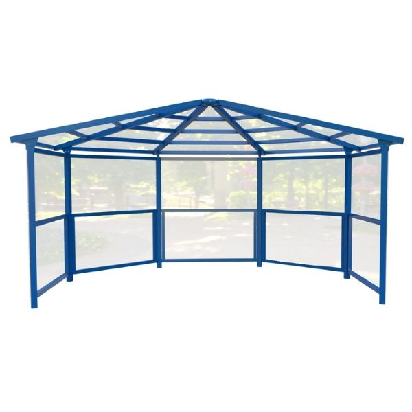 5 Sided Shelter with Side Panels