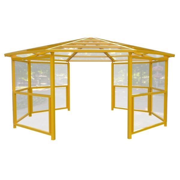 8 Sided Shelter with Side Panels