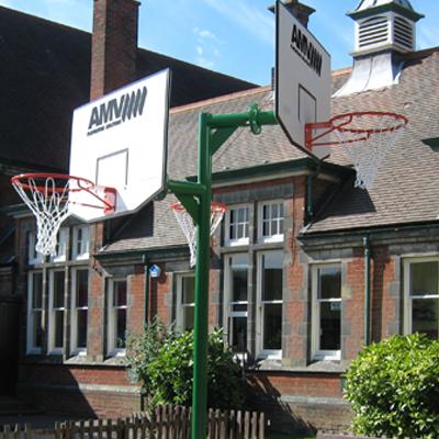 Triple Basketball Post