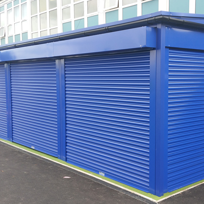 Early Years Canopy with Roller Shutters