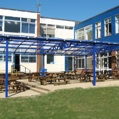 Outdoor Dining Area Canopies
