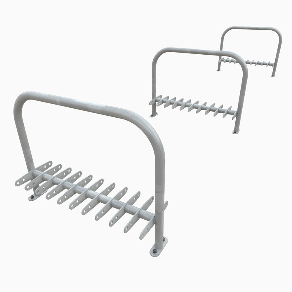 Sheffield Double Sided Scooter Rack