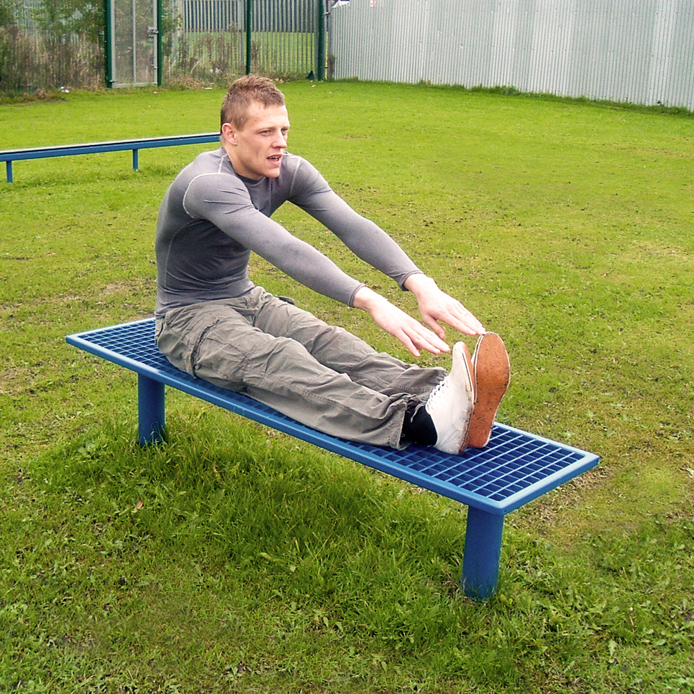 Straight Leg Stretch Bench