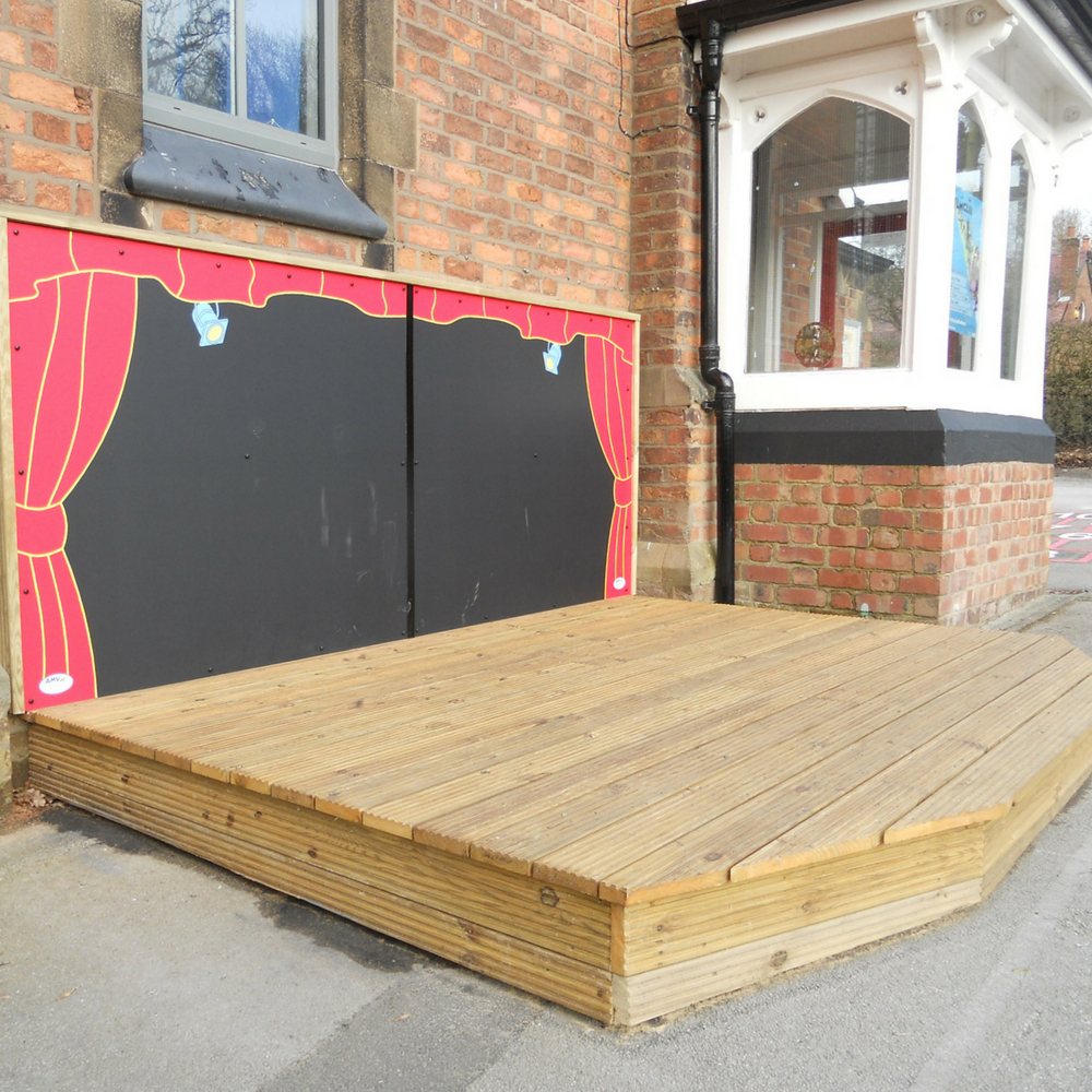 4m Timber Stage