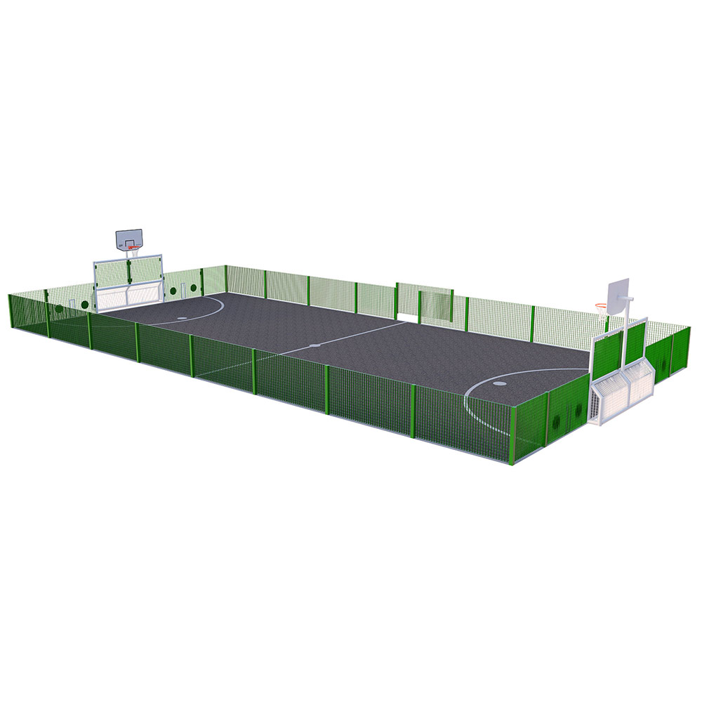 Primary MUGA - Low Fencing