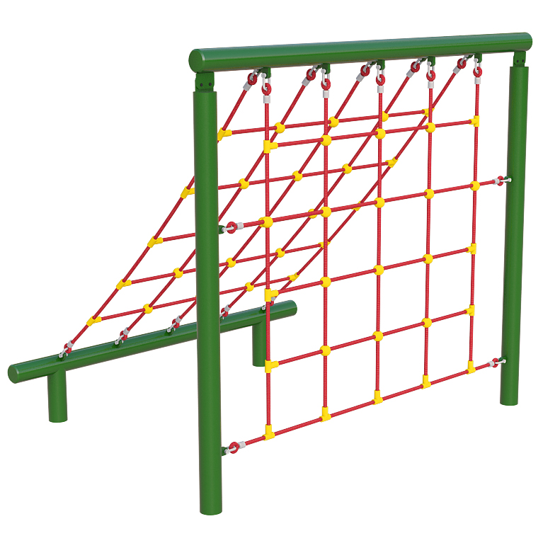 Up and Over Scramble Net