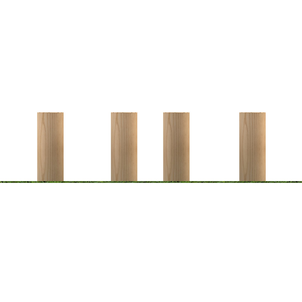 150mm Stepping Logs (set of 4)