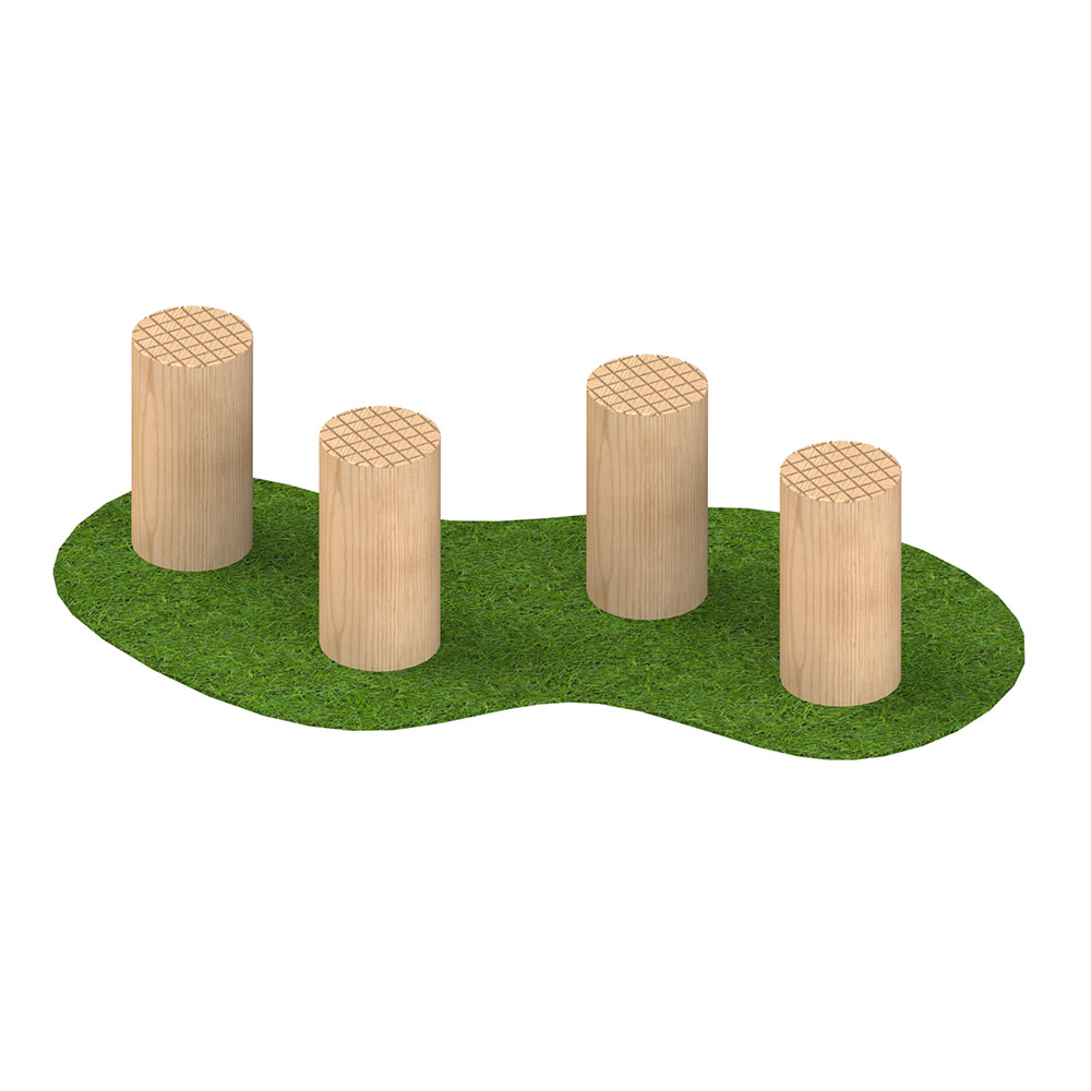 200mm Stepping Logs (set of 4)