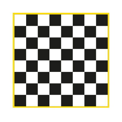 Chessboard Solid (using 300mm squares)