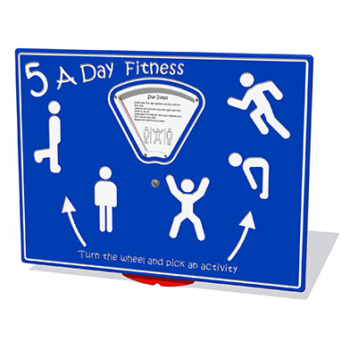 5 a Day Fitness Play Panel