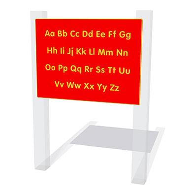 Alphabet Upper & Lower Case Play Panel
