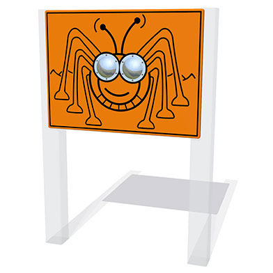 Bug Eyes Cricket Play Panel
