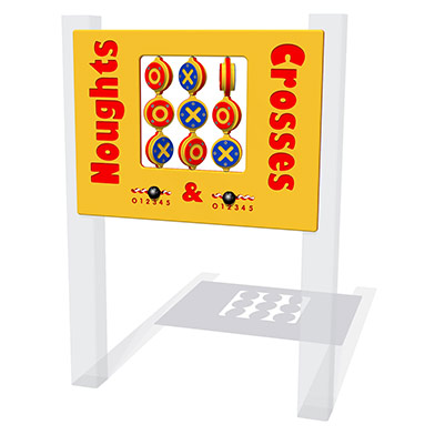 Chunky Noughts & Crosses Play Panel