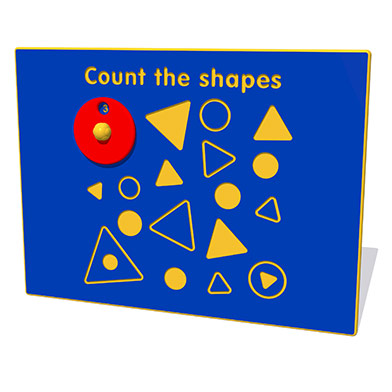 Count The Shapes Play Panel