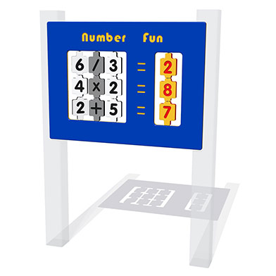 Number Fun Play Panel