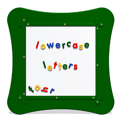 MagPlay Wall Panel - Lowercase Letters