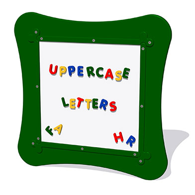 MagPlay Wall Panel - Uppercase Letters