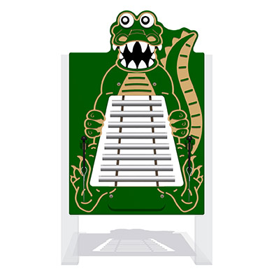 Charlie the Crocodile Musical Panel