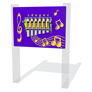 Hand Chimes Musical Panel