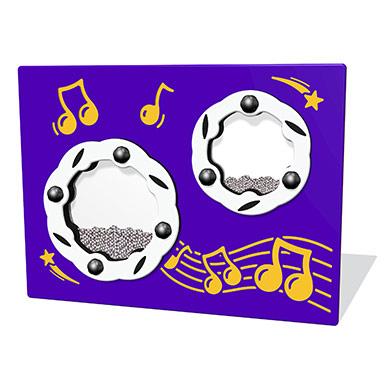Shaker Musical Play Panel