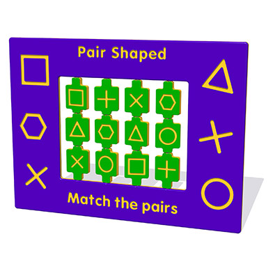 Pair Shaped Play Panel