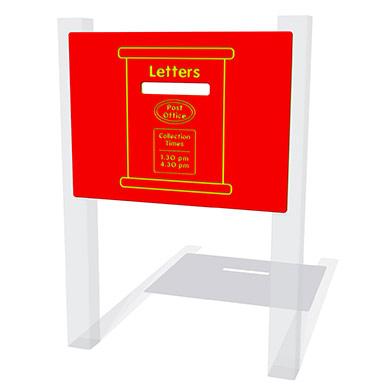 Post Box Play Panel