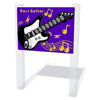 PlayTronic Bass Guitar Musical Play Panel
