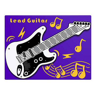 PlayTronic Lead Guitar Musical Play Panel