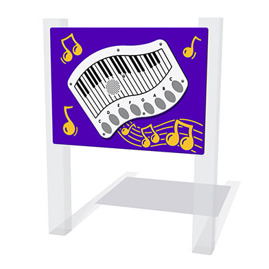 PlayTronic Piano Musical Play Panel