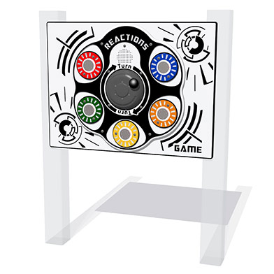 RotoGen PlayTronic Reactions Game Play Panel