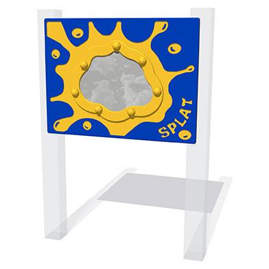 Splat Mirror Play Panel