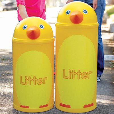 Large Chick Litter Bin