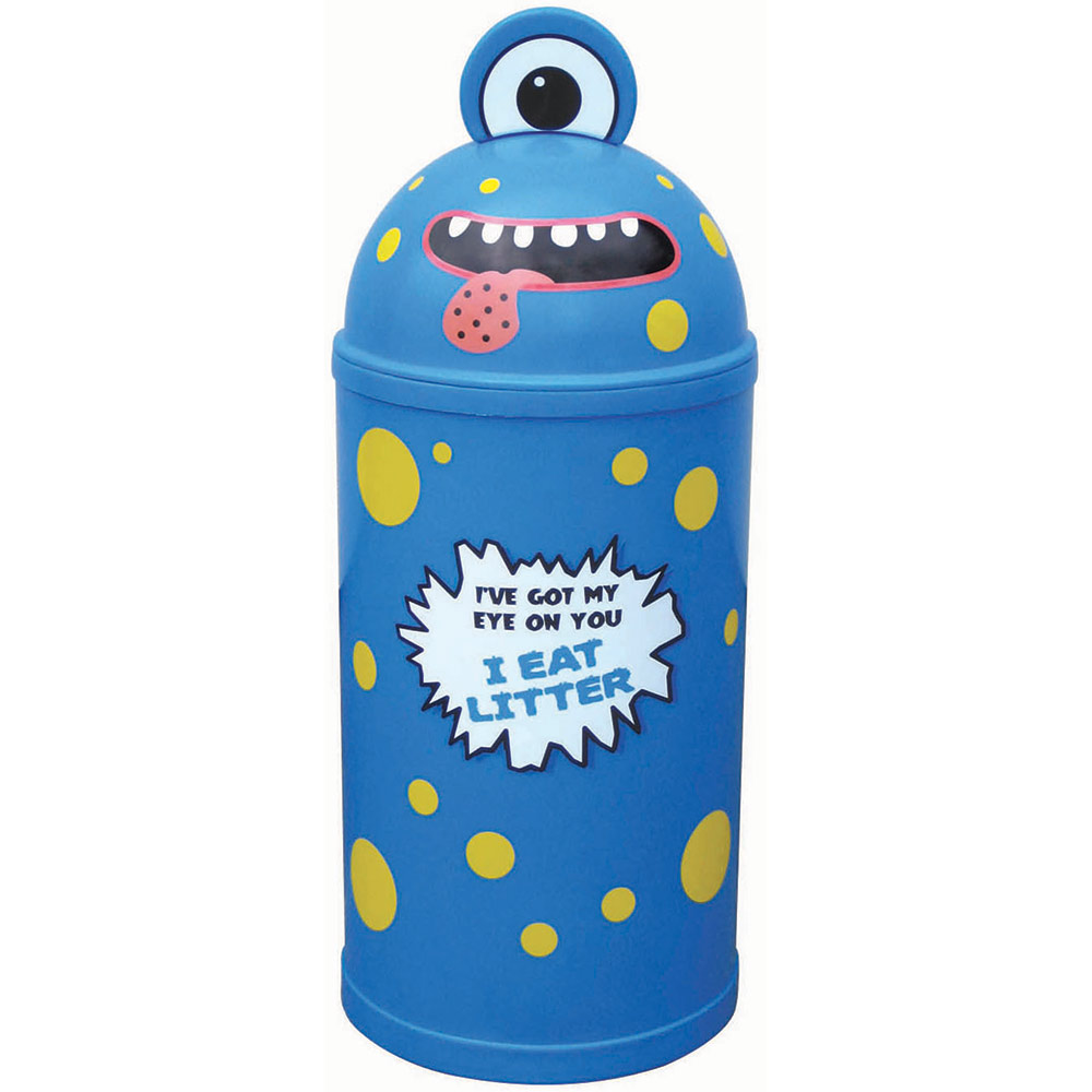 Small Monster Litter Bin