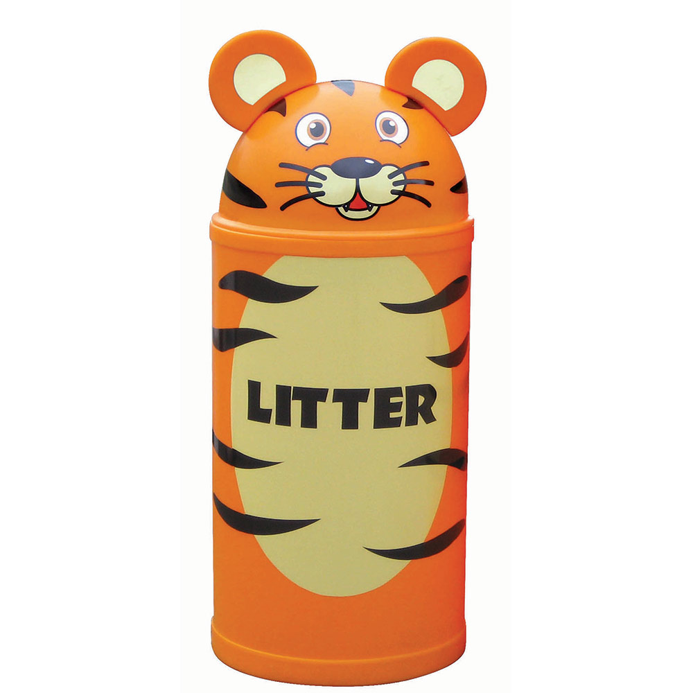 Small Tiger Litter Bin