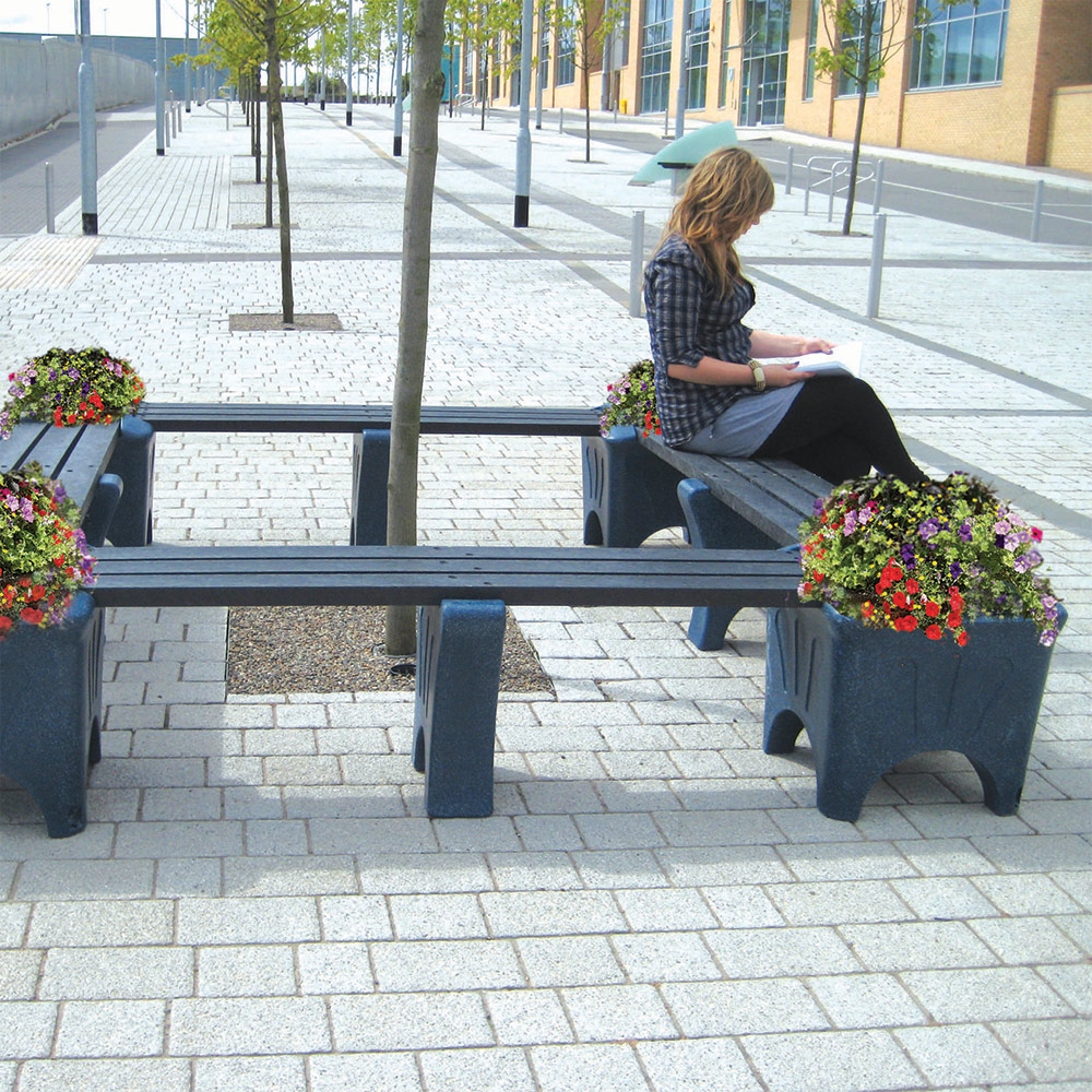 Modular Outdoor Plastic Seating