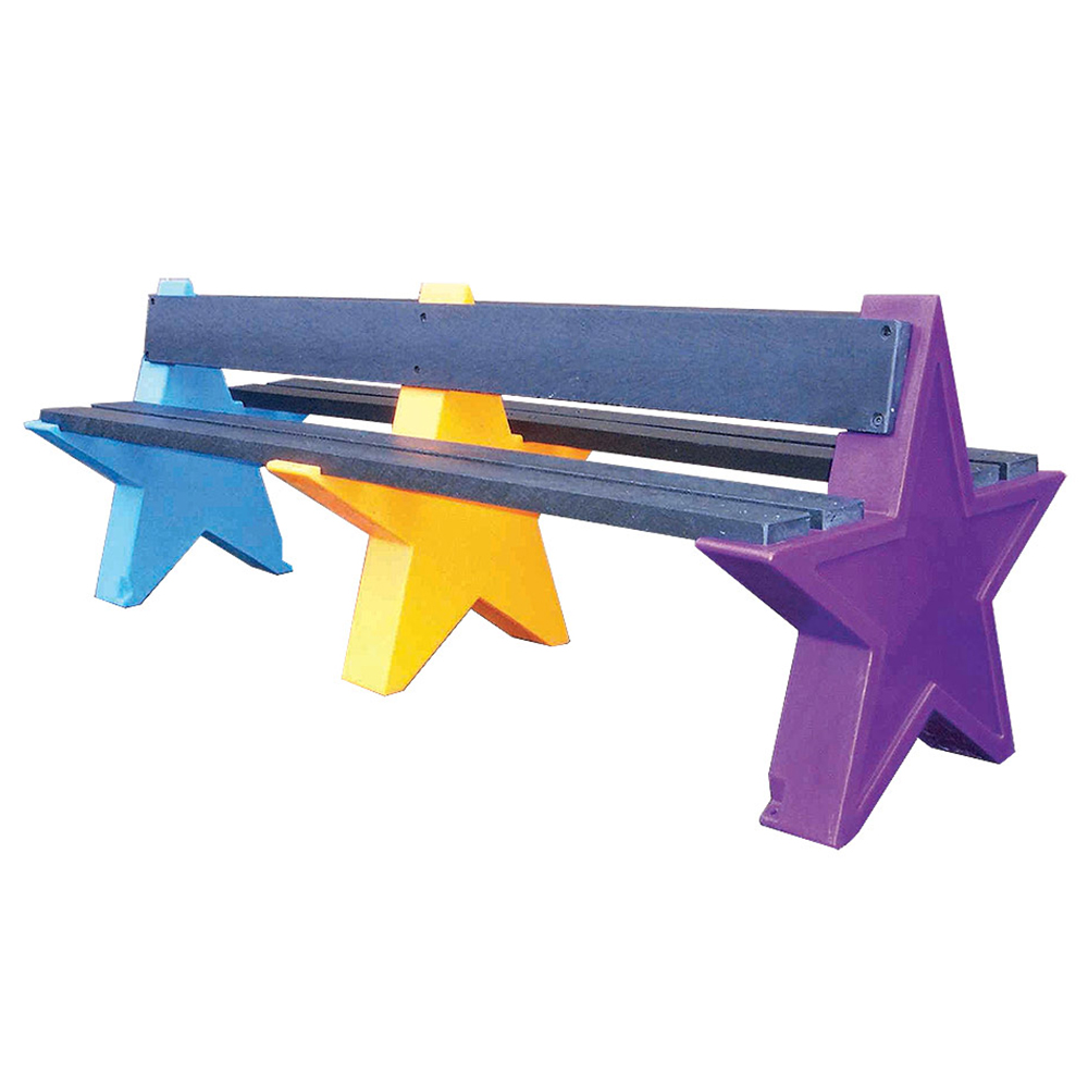 Six Person Double Sided Star Seat