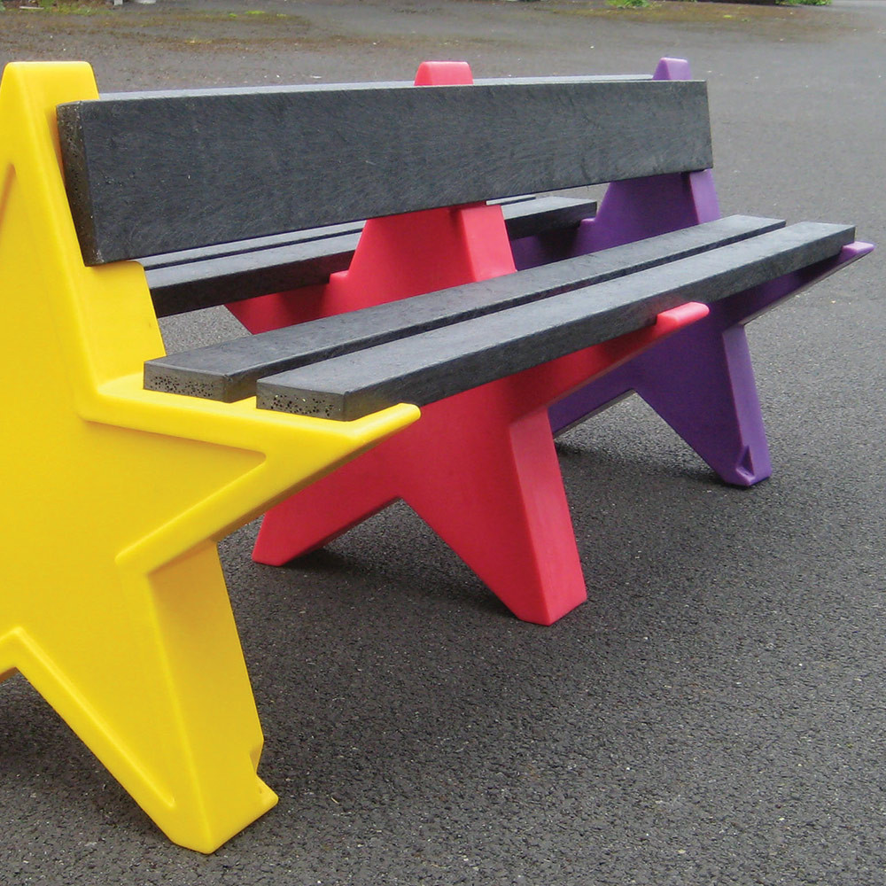 Eight Person Double Sided Star Seat