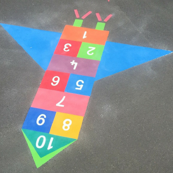 Rocket Hopscotch 300 (using 300mm squares)