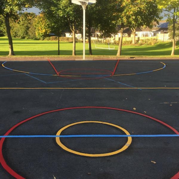 Multi Court Netball Football Basketball