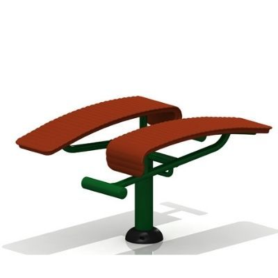 Double Sit Up Bench