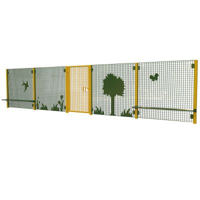 Heavy Duty High Fencing