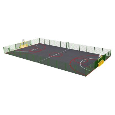 Primary MUGA - High Fencing