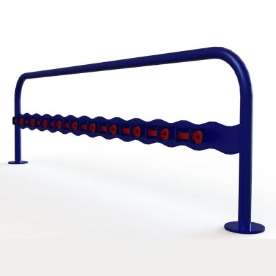 Single Sided Scooter Rack