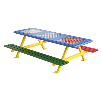 Infant Picnic Bench with Games Top