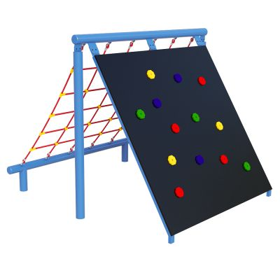 Climbing Wall (& Scramble Net)