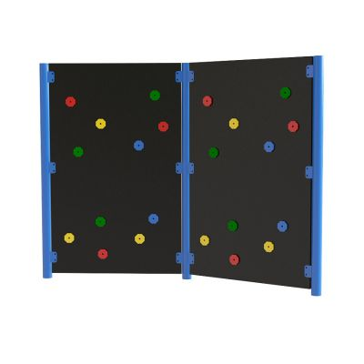 Solid Traverse Wall (2 Panels)