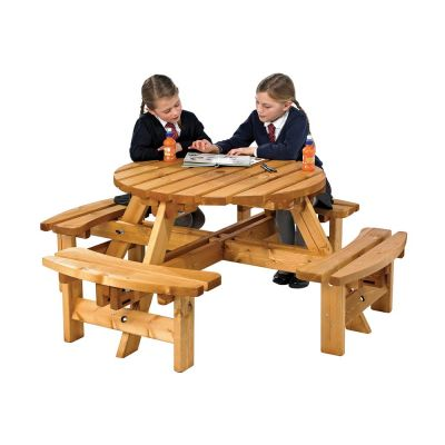 Sherwood Junior Round Picnic Bench