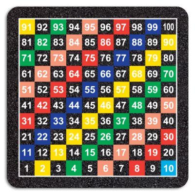 1-100 Grid Half Solid