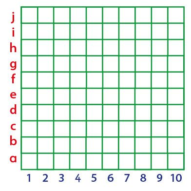 Co-ordinates Grid Lines